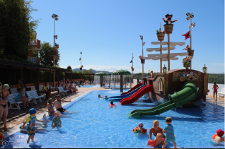Kinderpool Blau Punta Reina Resort