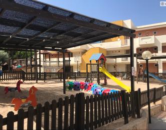 Spielplatz Blau Punta Reina Resort