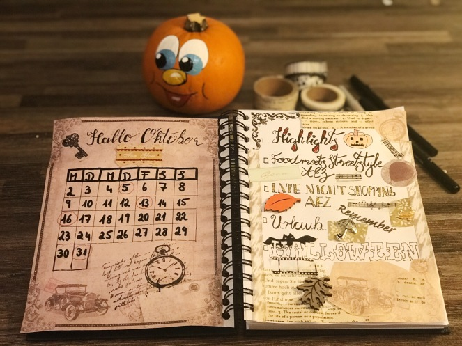 Andrea Hennig Bulletjournal Oktober